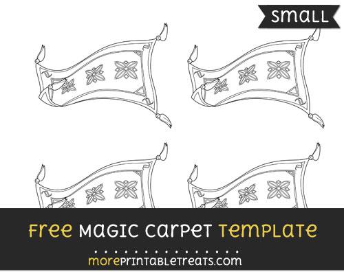 Free Magic Carpet Template - Small