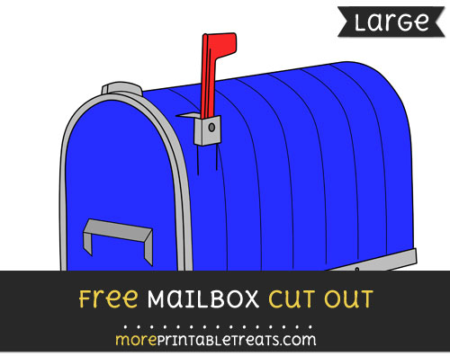 Free Mailbox Cut Out - Large size printable