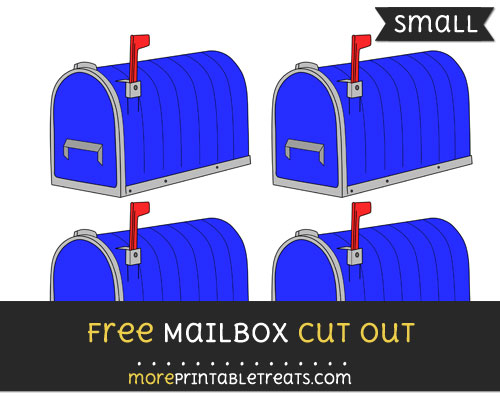 Free Mailbox Cut Out - Small Size Printable