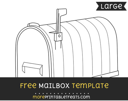 Free Mailbox Template - Large