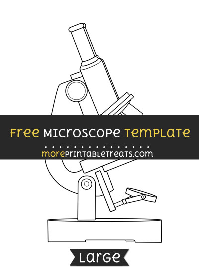 Free Microscope Template - Large