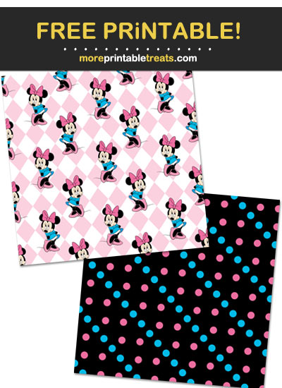Free Printable Minnie Mouse Backgrounds
