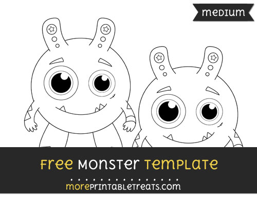 Free Monster Template - Medium