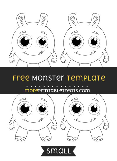 Free Monster Template - Small