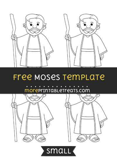 Free Moses Template - Small