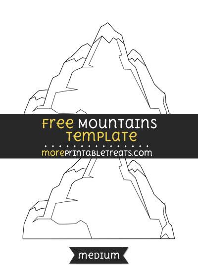 Free Mountains Template - Medium