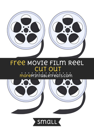 Free Movie Film Reel Cut Out - Small Size Printable