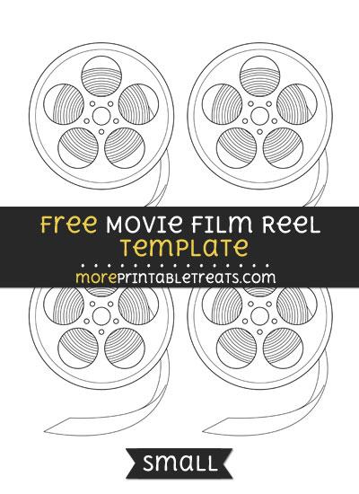 Free Movie Film Reel Template - Small