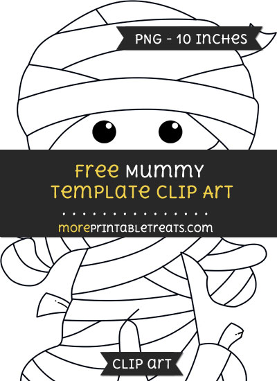 Free Mummy Template - Clipart