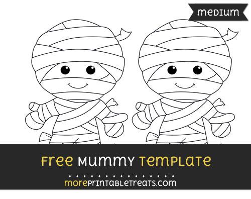 Free Mummy Template - Medium