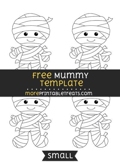 Free Mummy Template - Small