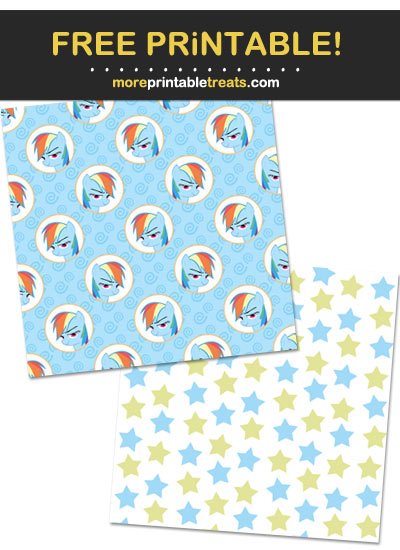Free Printable My Little Pony Backgrounds