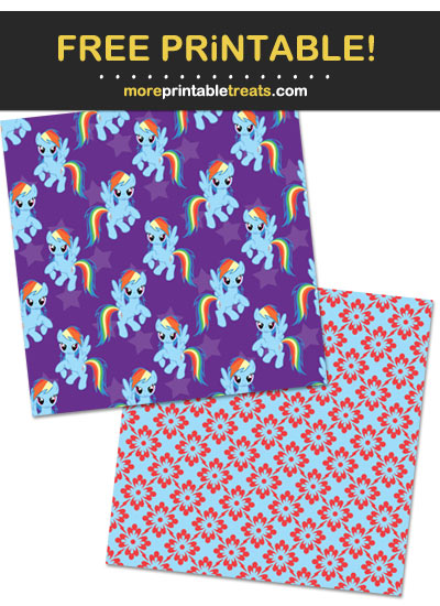 Free Printable My Little Pony Characters Backgrounds