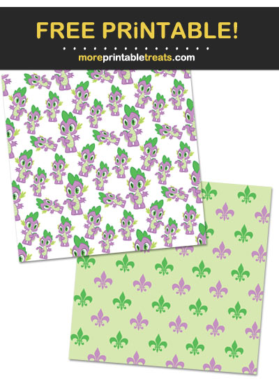 Free Printable My Little Pony Pattern Paper