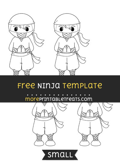 Free Ninja Template - Small