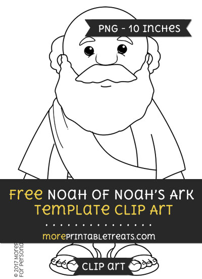 Free Noah Of Noahs Ark Template - Clipart