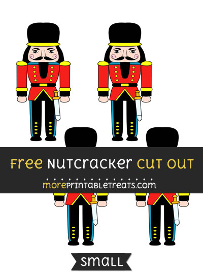 Free Nutcracker Cut Out - Small Size Printable