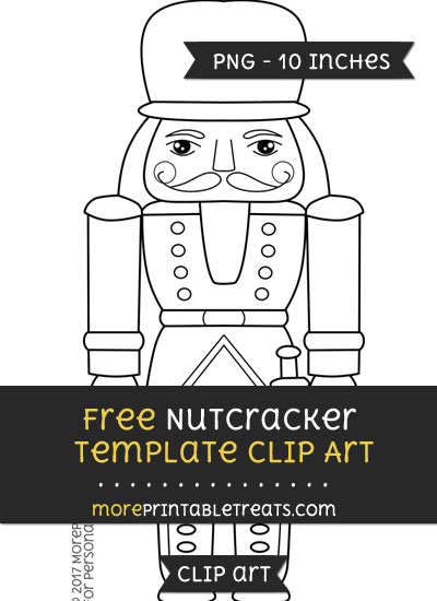 Free Nutcracker Template - Clipart