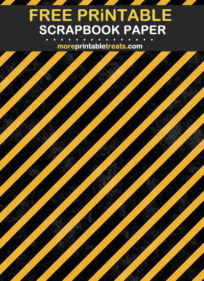 Free Printable Orange and Black Halloween Grunge Scrapbook Paper