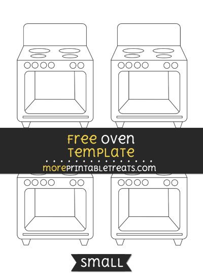 Free Oven Template - Small