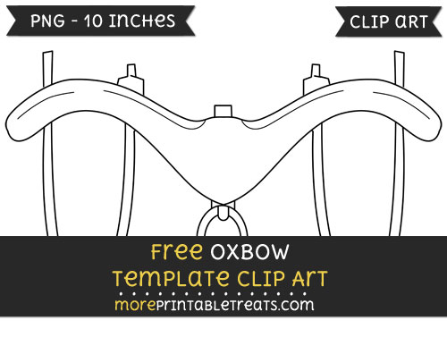 Free Oxbow Template - Clipart
