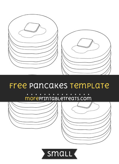 Free Pancakes Template - Small