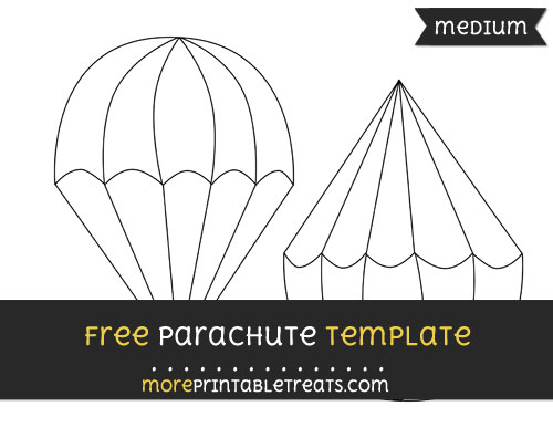 Free Parachute Template - Medium