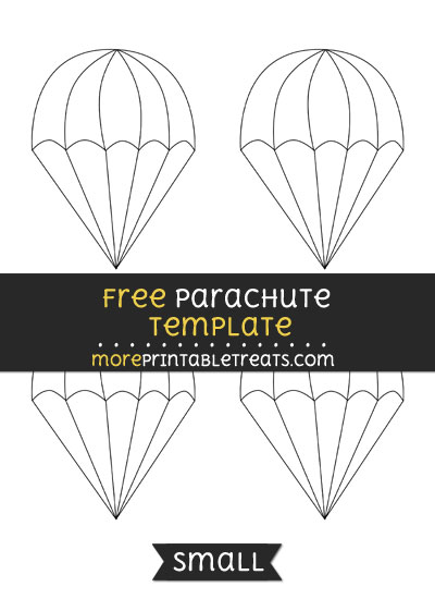 Free Parachute Template - Small