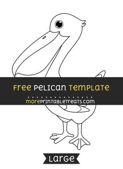 Free Pelican Template - Large