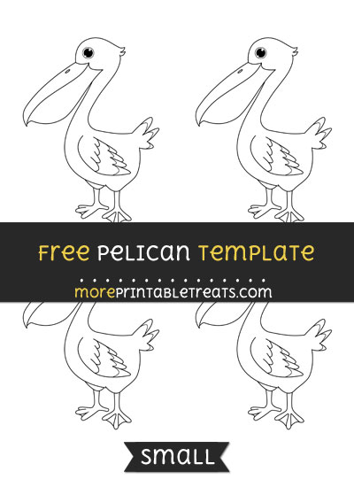Free Pelican Template - Small