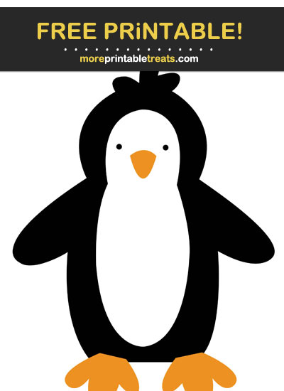 Free Printable Penguin Cut Out
