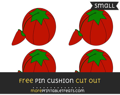 Free Pin Cushion Cut Out - Small Size Printable