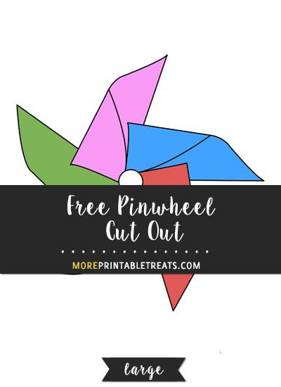 Free Pinwheel Cut Out - Large