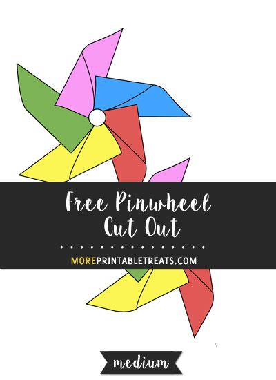 Free Pinwheel Cut Out - Medium