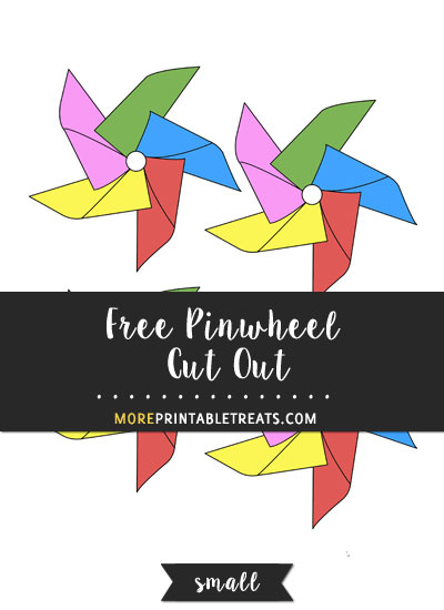 Free Pinwheel Cut Out - Small