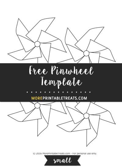 Free Pinwheel Template - Small