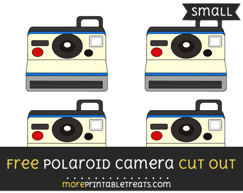 Free Polaroid Camera Cut Out - Small Size Printable