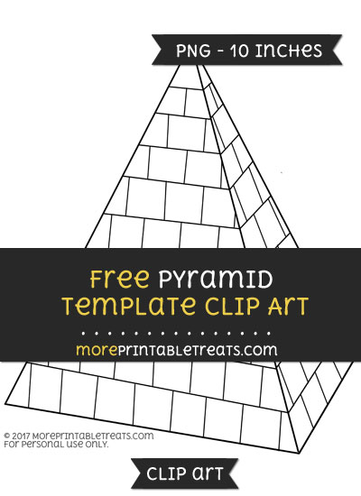Free Pyramid Template - Clipart