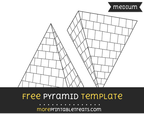 Free Pyramid Template - Medium
