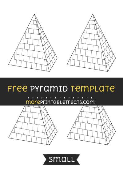 Free Pyramid Template - Small