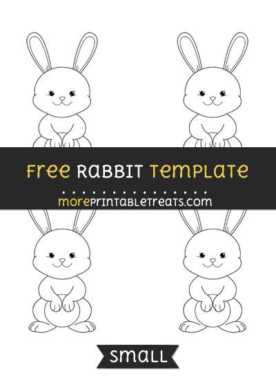 Free Rabbit Template - Small