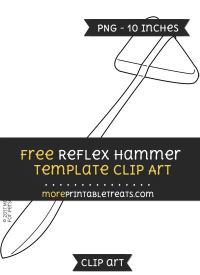 Free Reflex Hammer Template - Clipart