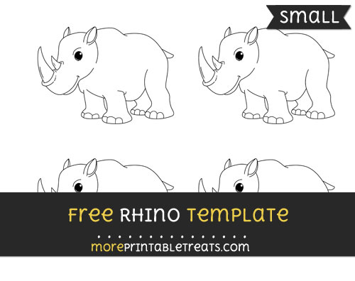 Free Rhino Template - Small