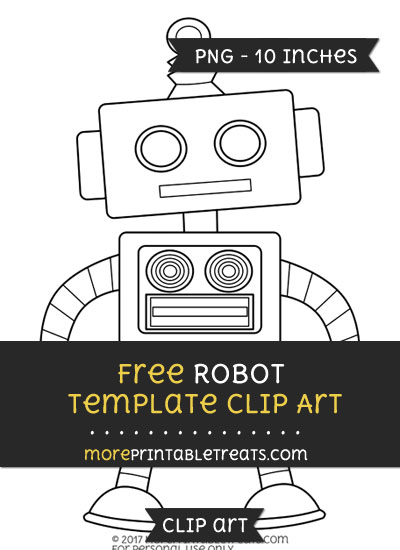 Free Robot Template - Clipart