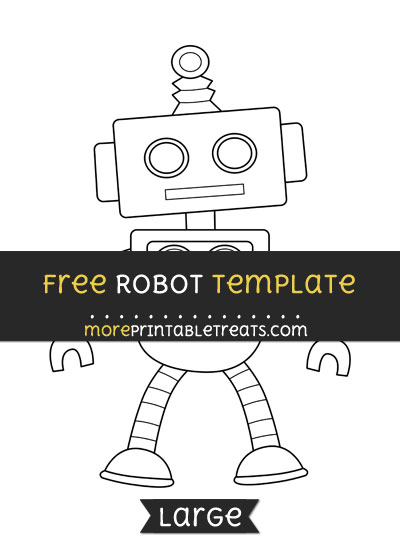 Free Robot Template - Large