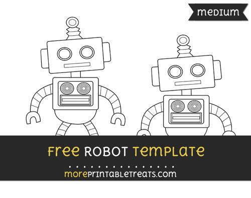 Free Robot Template - Medium