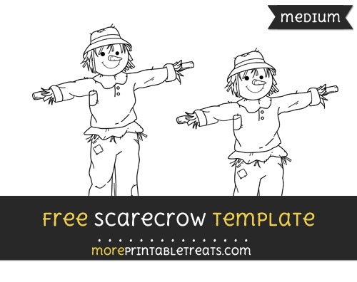 Free Scarecrow Template - Medium