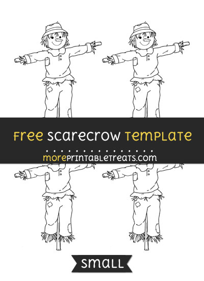 Free Scarecrow Template - Small