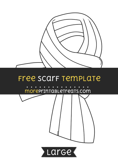 Free Scarf Template - Large