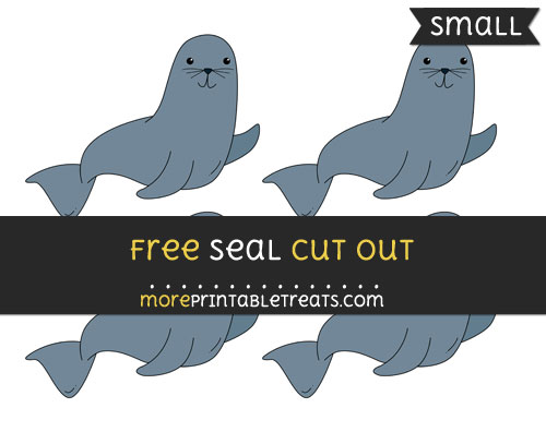Free Seal Cut Out - Small Size Printable